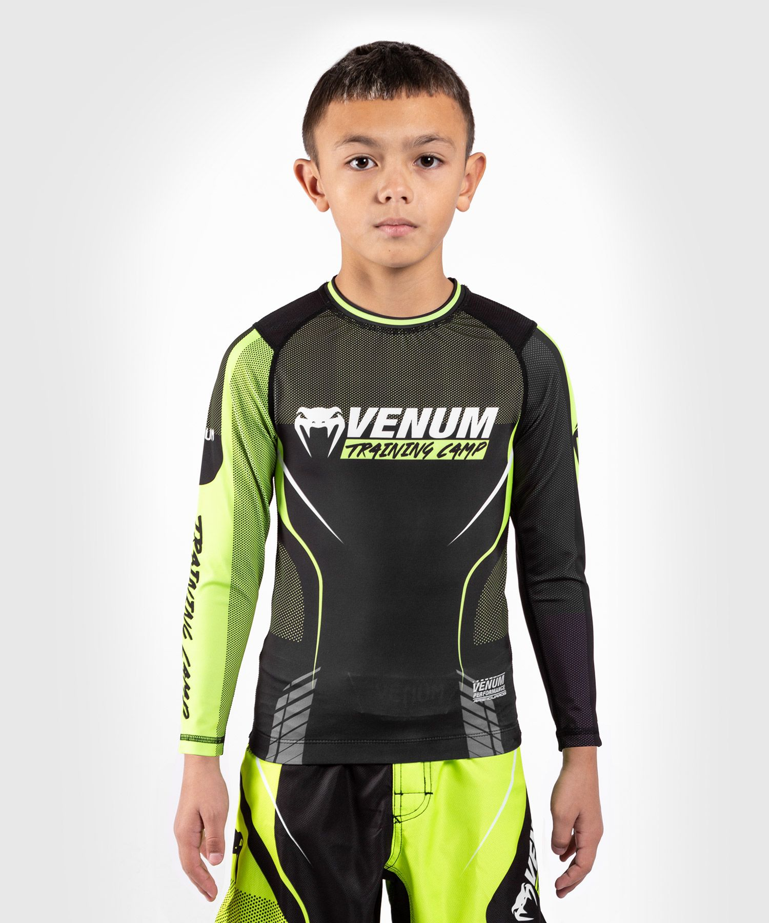 Venum Training Camp 3.0 Rashguard - niños