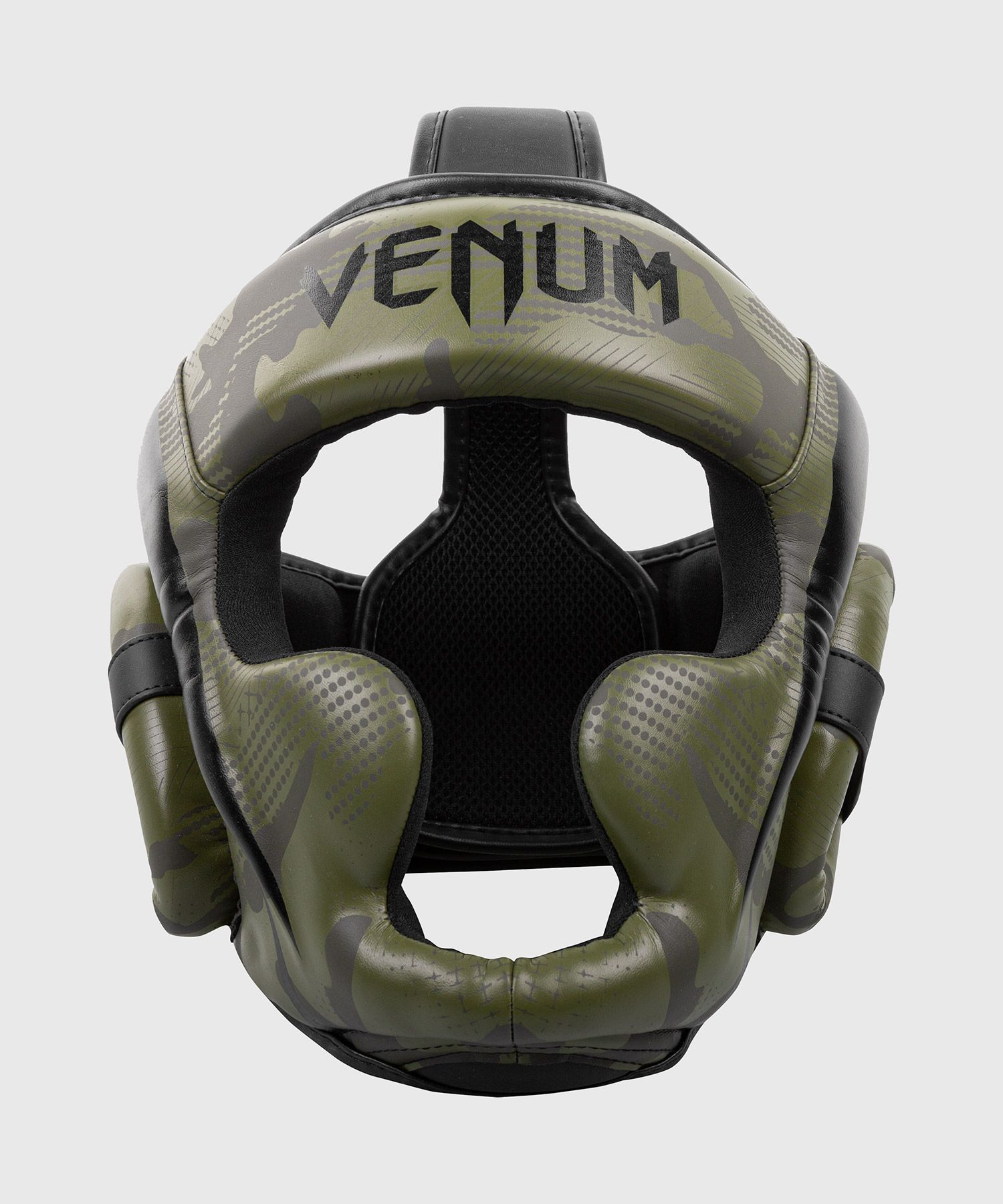Venum Elite Boxing Headgear - Khaki camo