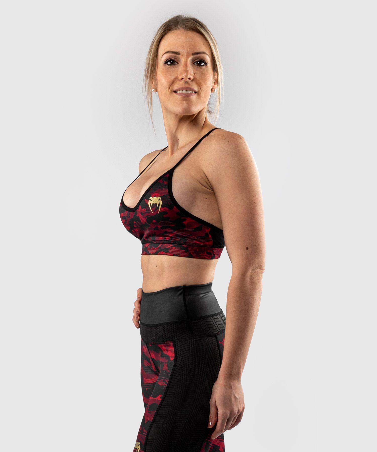 Venum Defender-sportbeha's – voor dames - Zwart/Rood