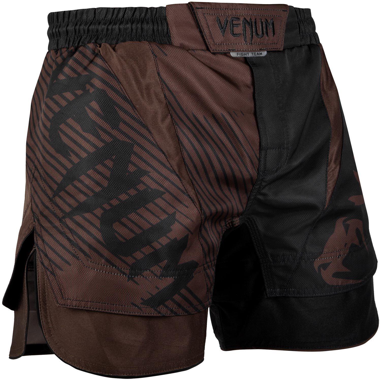 Fightshort court Venum NoGi 2.0 Approuvé IBJJF - Noir/Marron