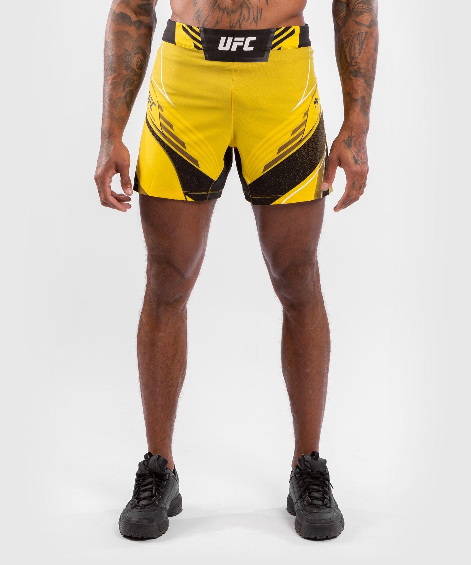 UFC Venum Authentic Fight Night Herenshort - Short Fit - Geel