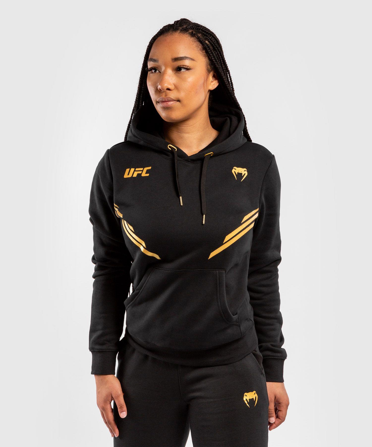 Felpa Con Cappuccio Donna UFC Venum Replica - Campione