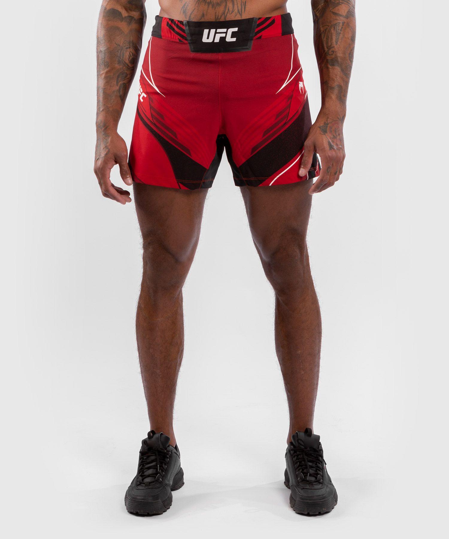 UFC Venum Authentic Fight Night Herenshort - Short Fit - Rood