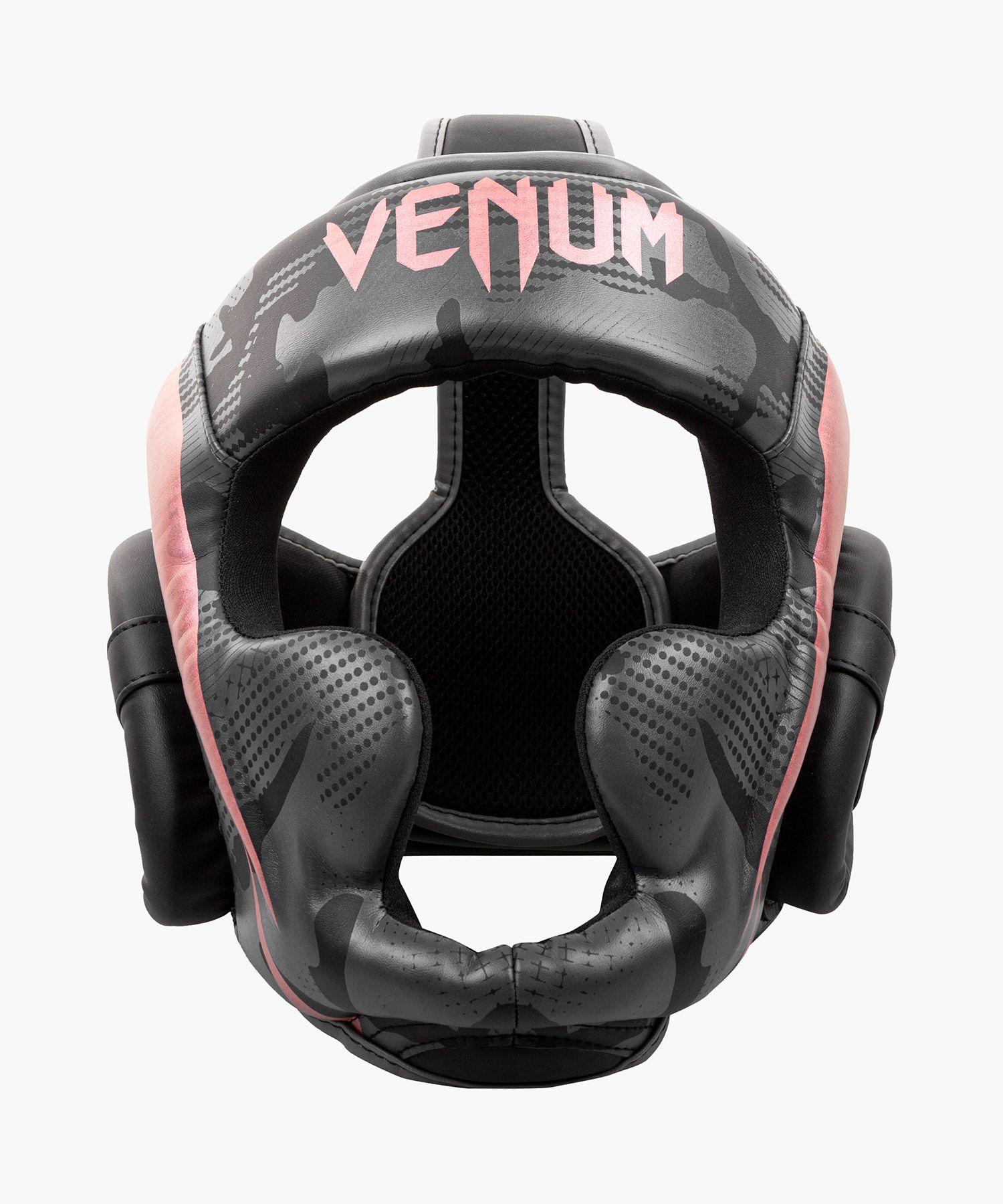 Venum Elite Bokshelm - Zwart/Rozegoud