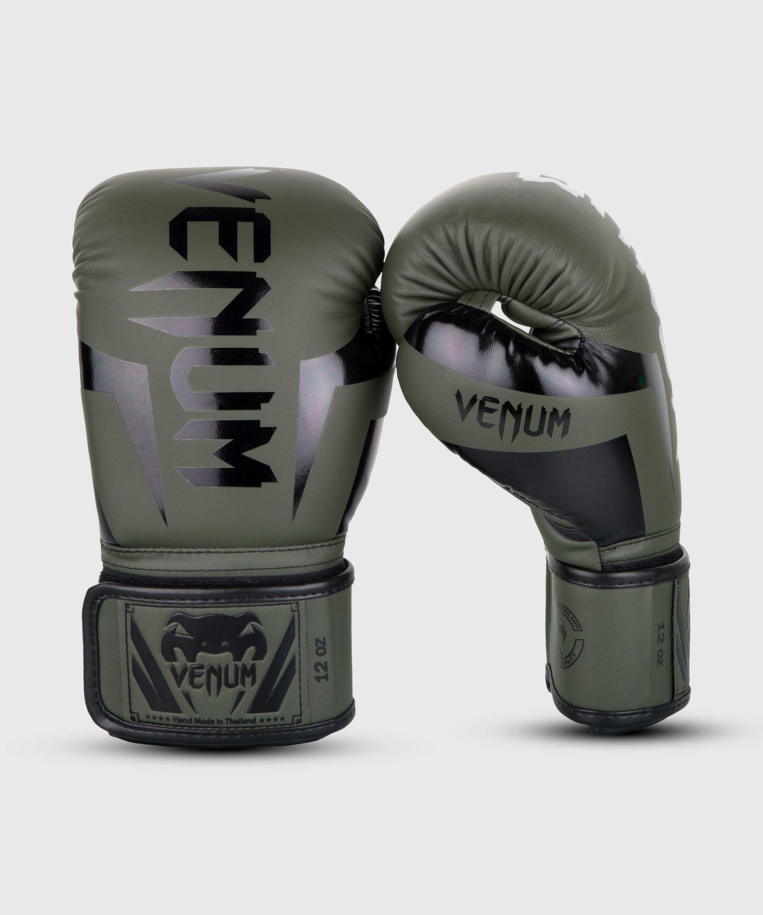 Venum Elite Gants de boxe Olive Camo