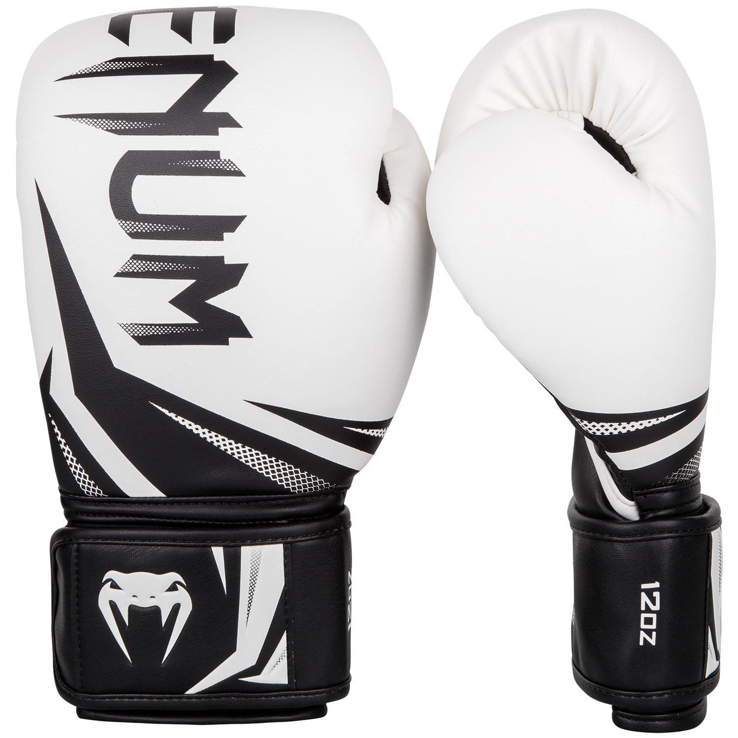 Venum Challenger 3.0 Boxing Gloves - White/Black