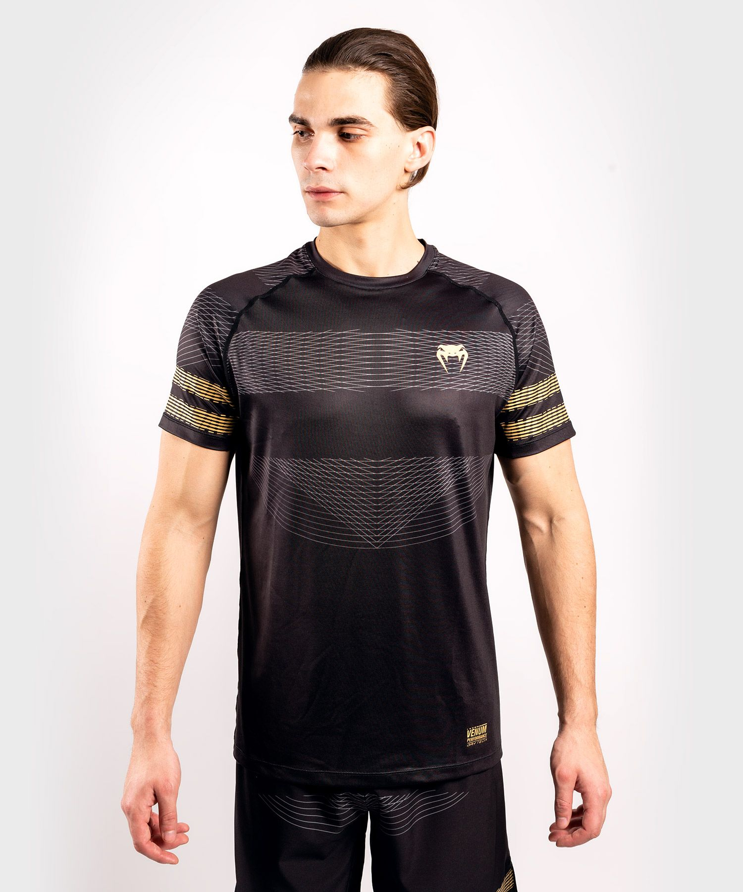 Venum Club 182 Dry Tech T-Shirt - Schwarz/Gold