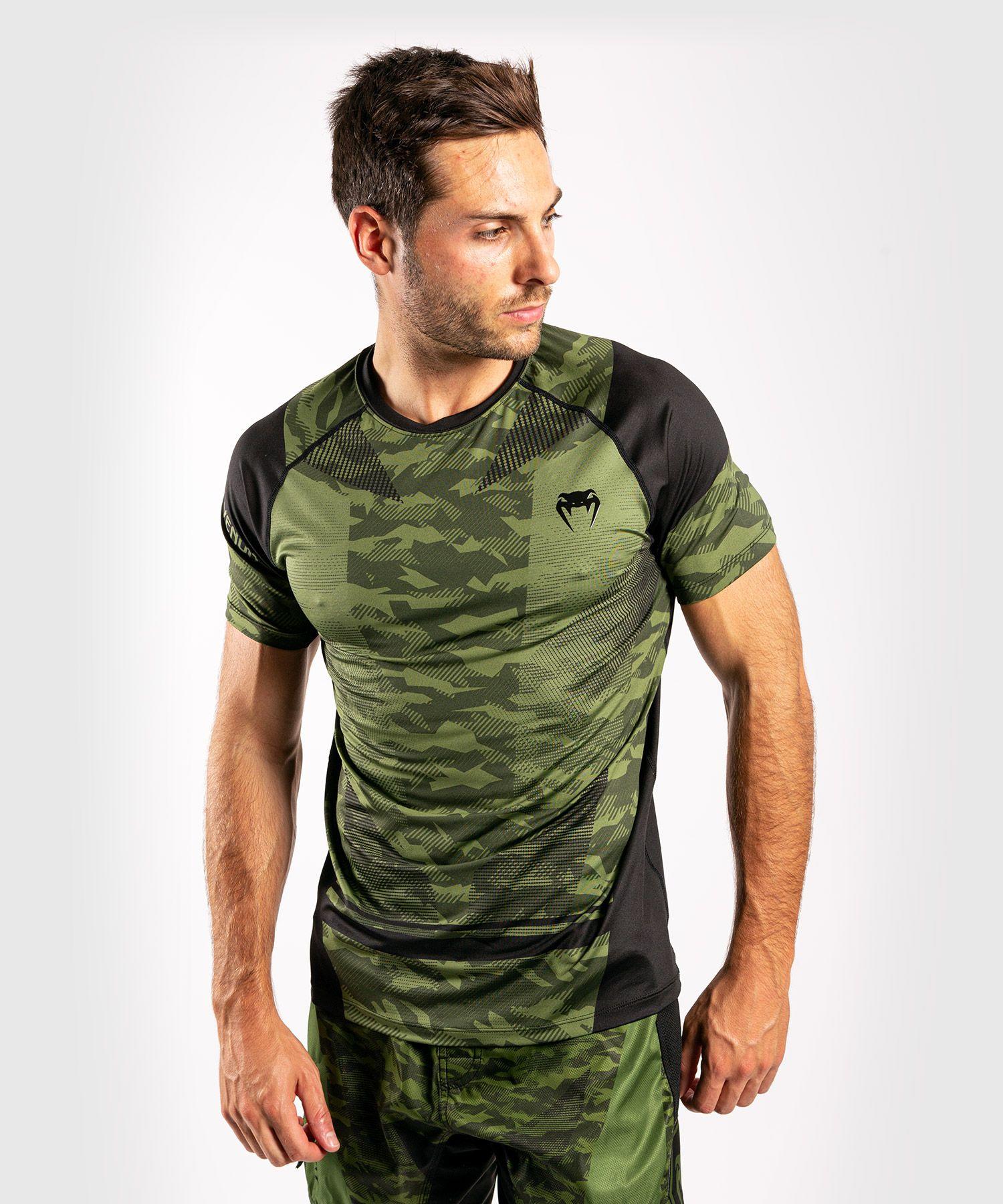 T-shirt Dry-Tech Venum Trooper - Boscamouflage/Zwart