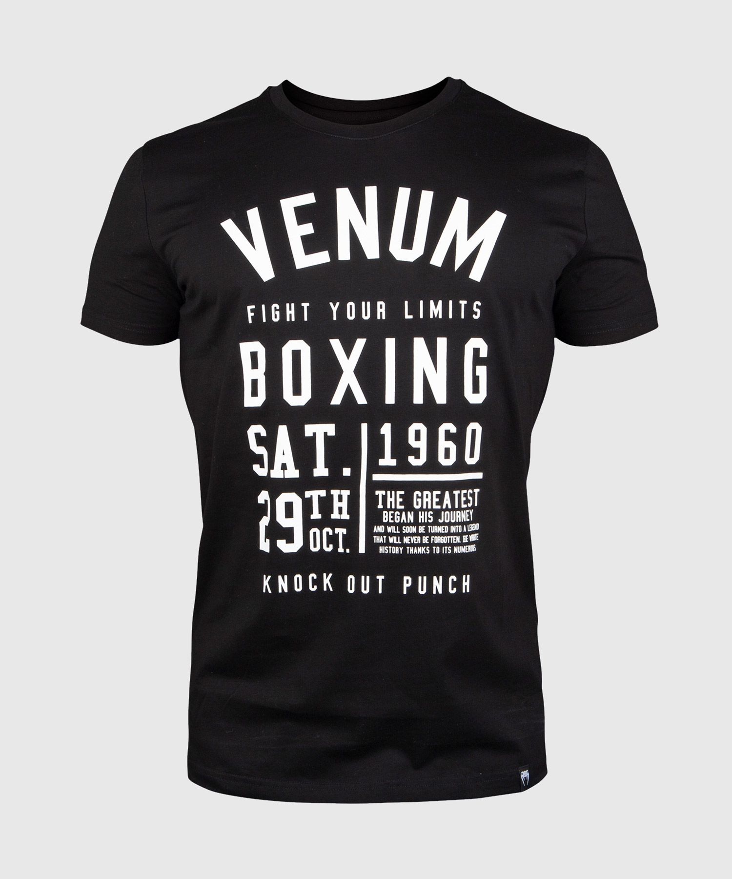 Venum Knock Out T-shirt - Black