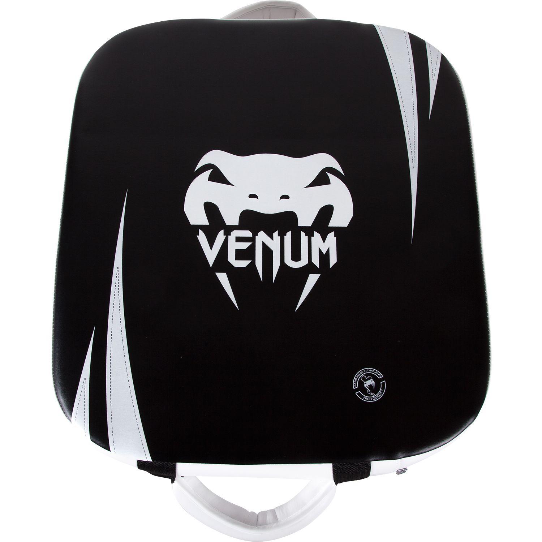 Kick Shield quadrato Absolute Venum - Pelle Skintex - Nero/Ghiaccio
