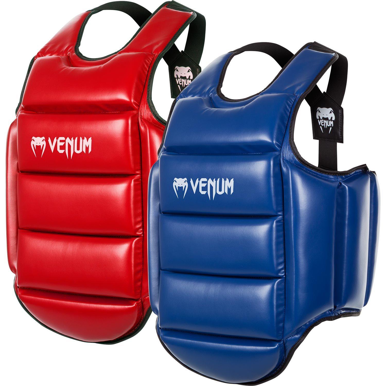 Plastron de protection Karate Venum Réversible - Bleu/Rouge