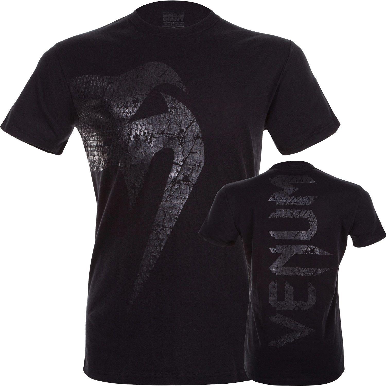 T-shirt Venum Giant - Noir/Noir