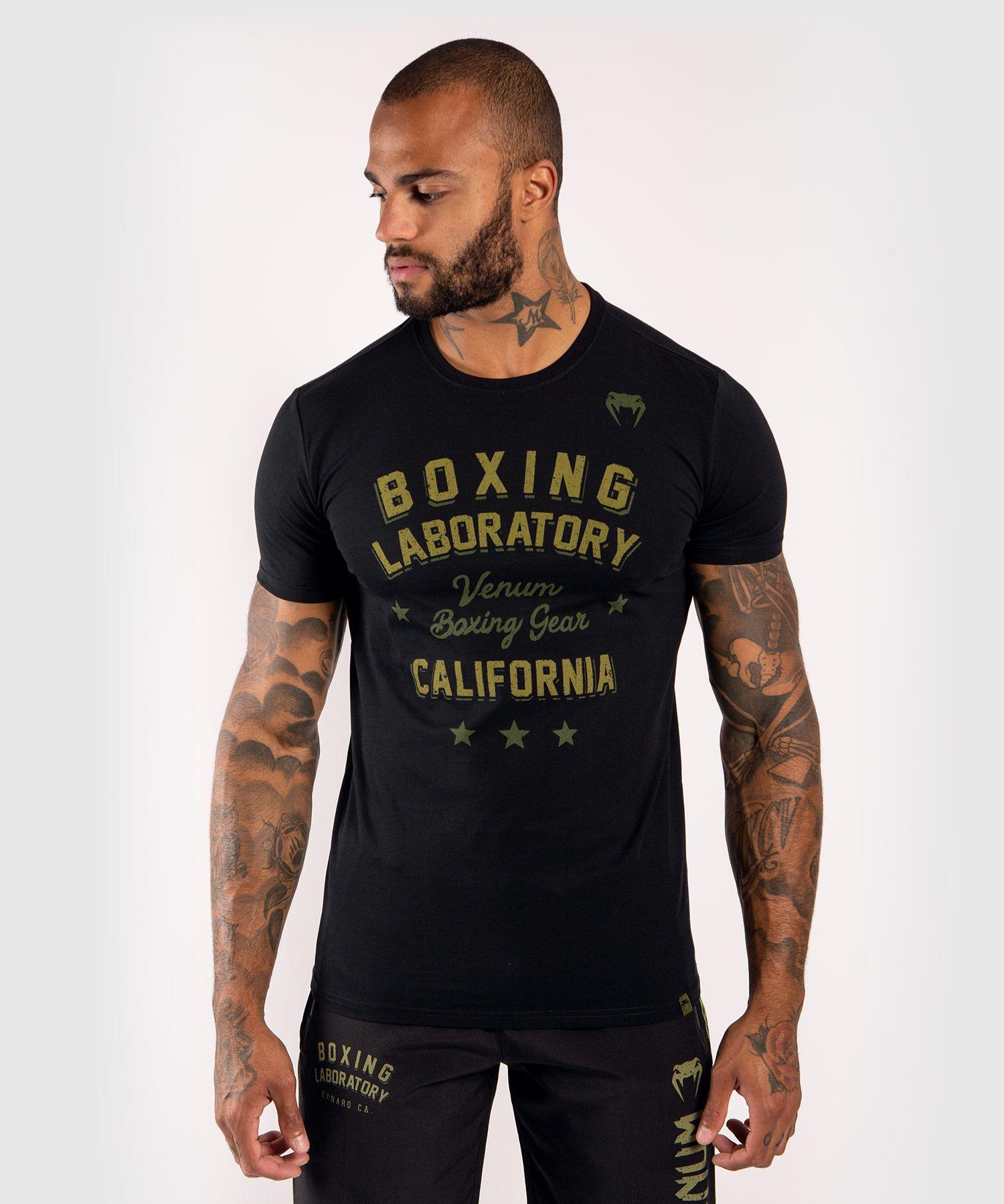 T-Shirt Venum Boxing Lab - Negro/Verde