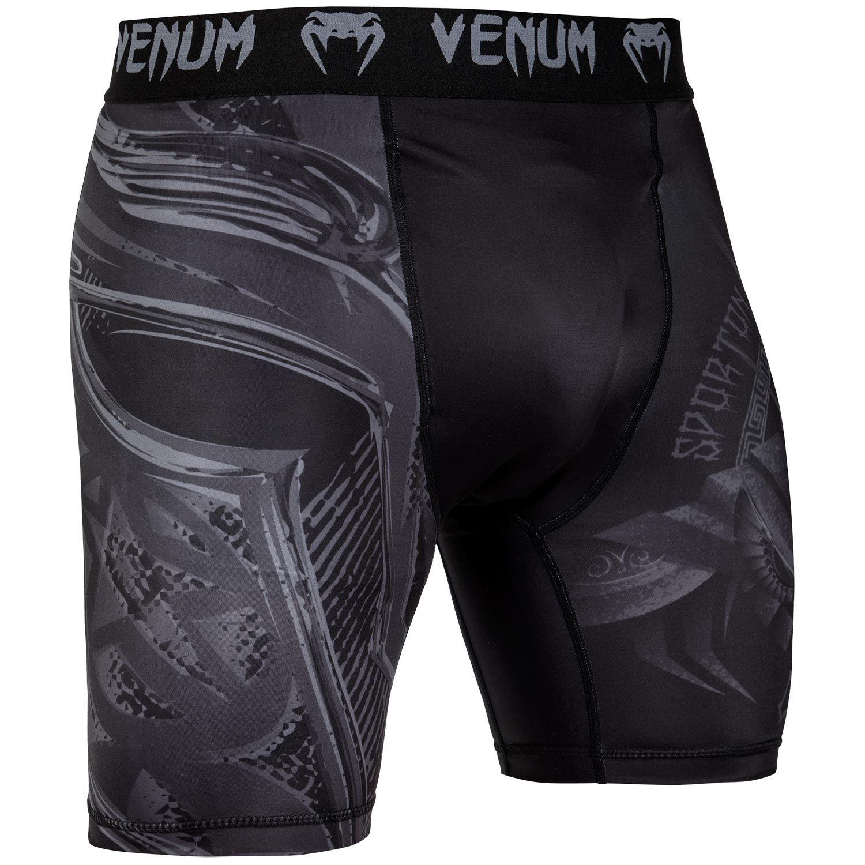 Short de compression Venum Gladiator 3.0 - Noir/Noir - Exclusivité