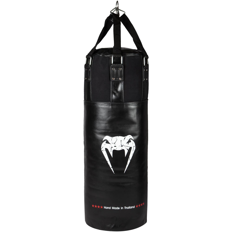 Venum Training Boxsack - Schwarz/Weiß - Ungefüllt