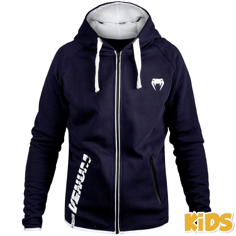 Sudadera con capucha para niños Venum Contender - Azul marino - Exclusividad