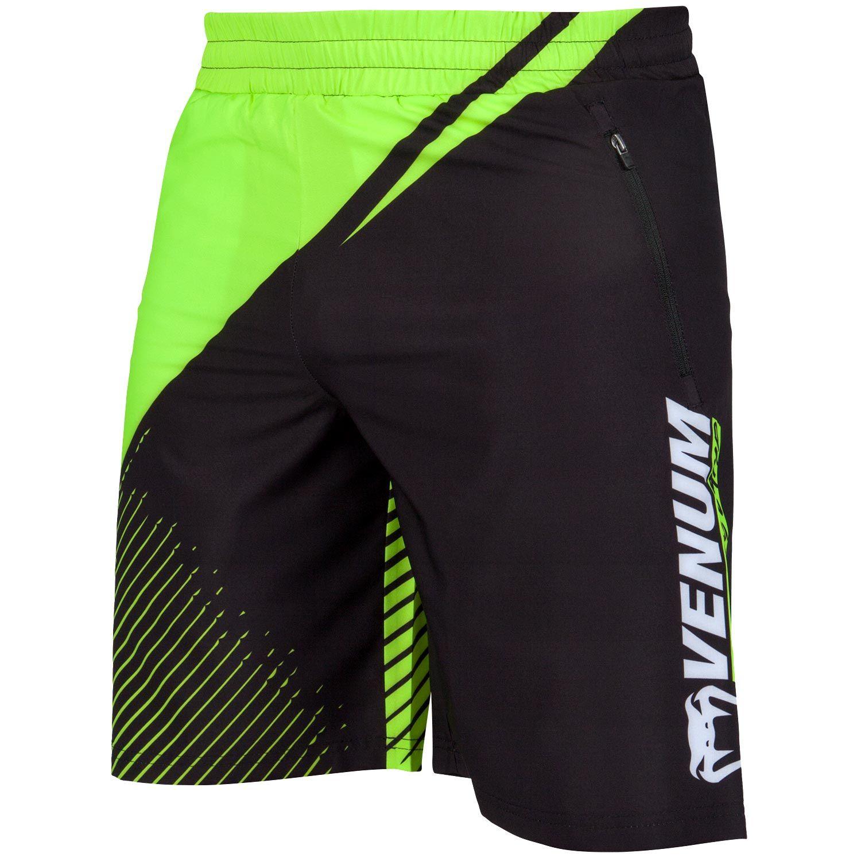 Venum Training Camp 2.0 Fitness Shorts - Schwarz/Neongelb