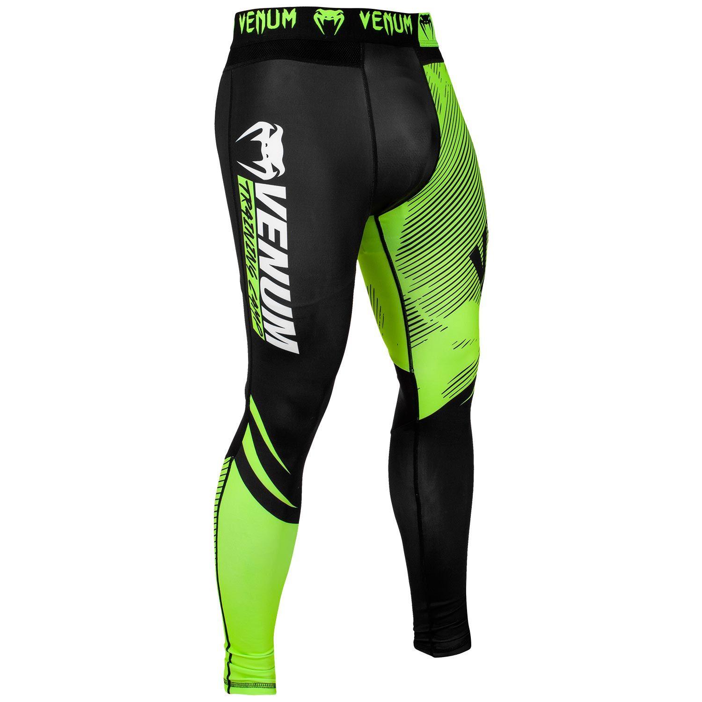 Pantaloni a compressione Venum Training Camp 2.0 - Neri/Gialli neo
