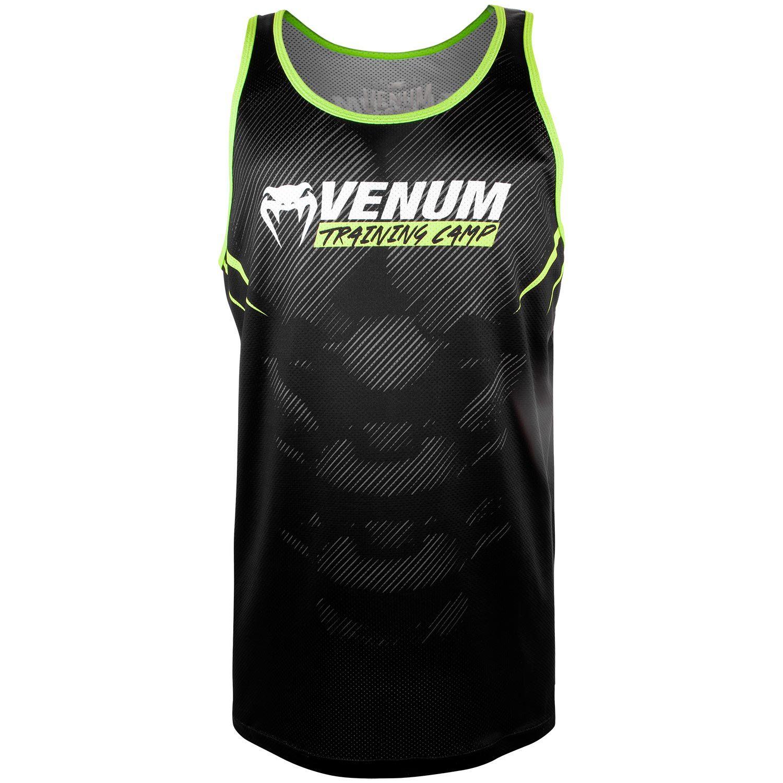 Camiseta sin Mangas VTC 2.0 – Negro / Neo Amarillo