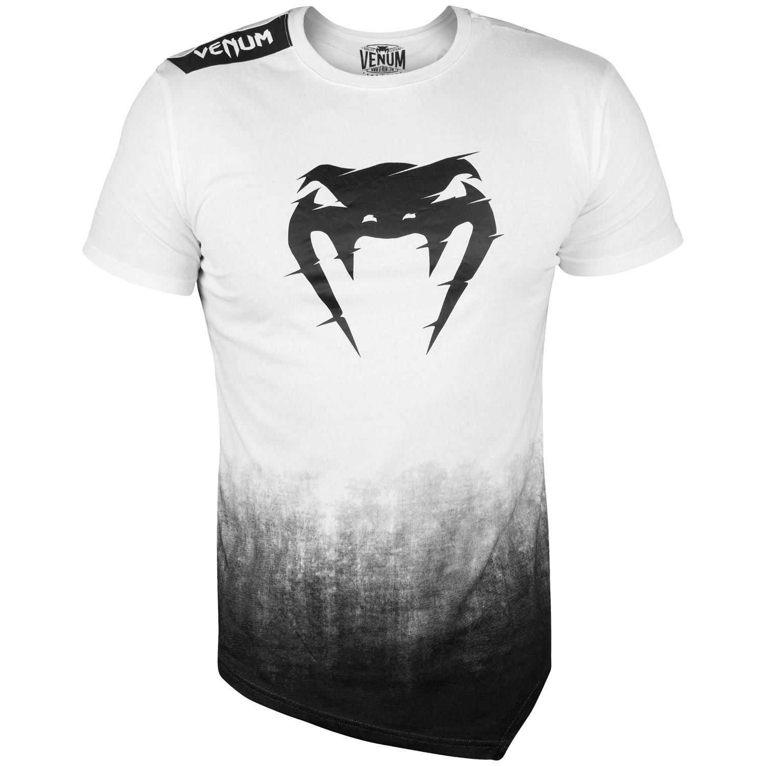 Camiseta Venum Interference 2.0 - Blanco/Negro