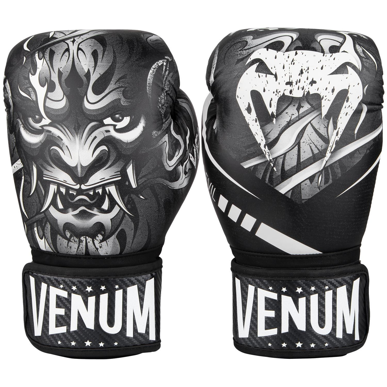 Gants de boxe Venum Devil - Noir/Blanc