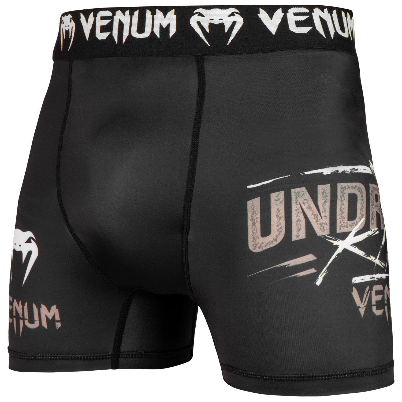 Venum Underground King Compression Shorts - Black/Sand
