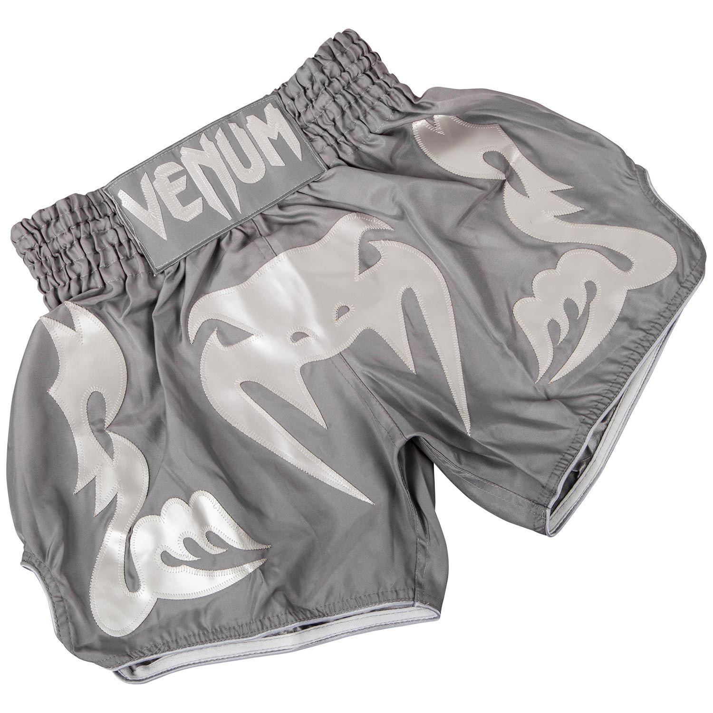 Venum Bangkok Inferno Muay Thai Shorts - Grau/Grau