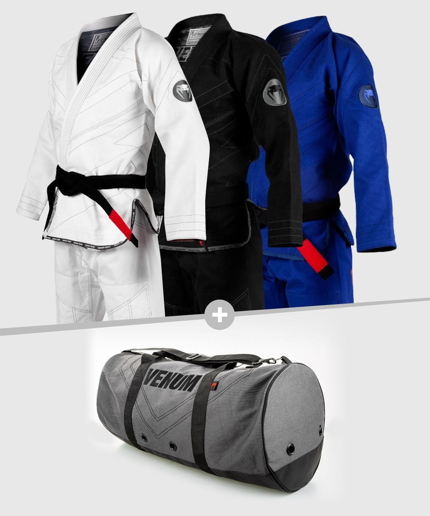 Venum Pack BJJ GI Classic 2.0 + Rio Sports Bag