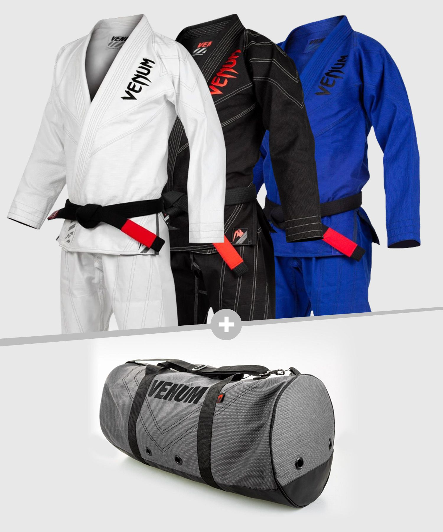 Venum Pack BJJ GI Power 2.0 + Rio Sports Bag
