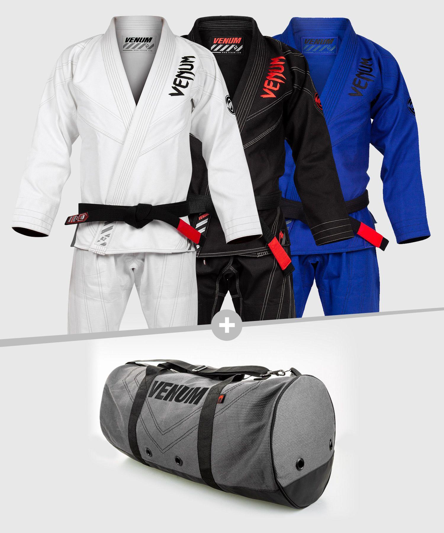 Venum Pack BJJ GI Power 2.0 Light + Rio Sports Bag