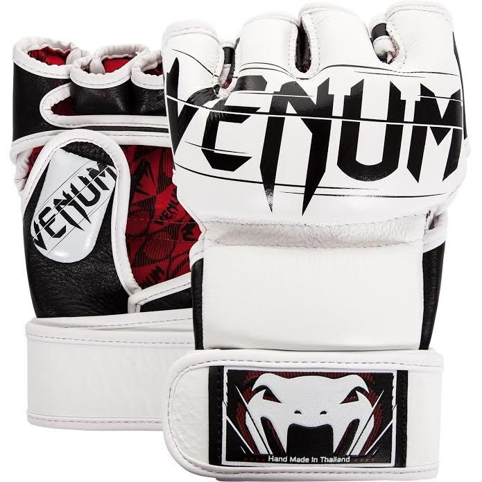 Venum Undisputed 2.0 MMA Gloves - Nappa Leather - White