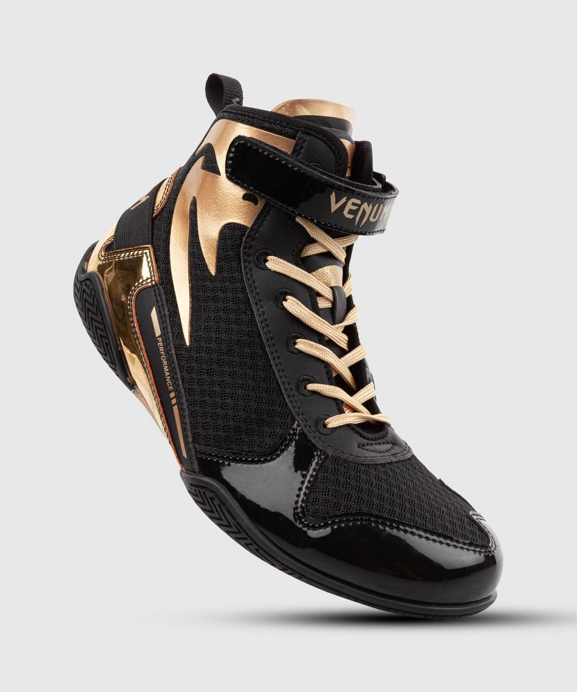 Venum Giant Low Boxing Shoes - Black/Gold