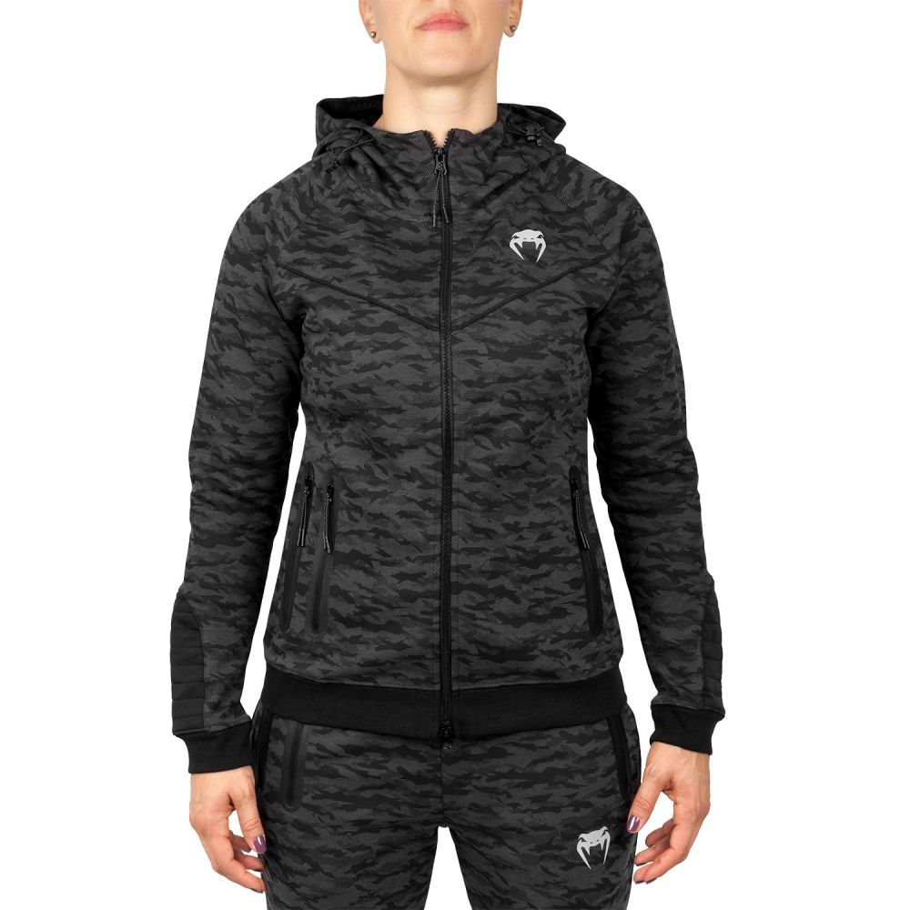 Venum Laser Hoodie - For Women - Dark Camo - Exclusive