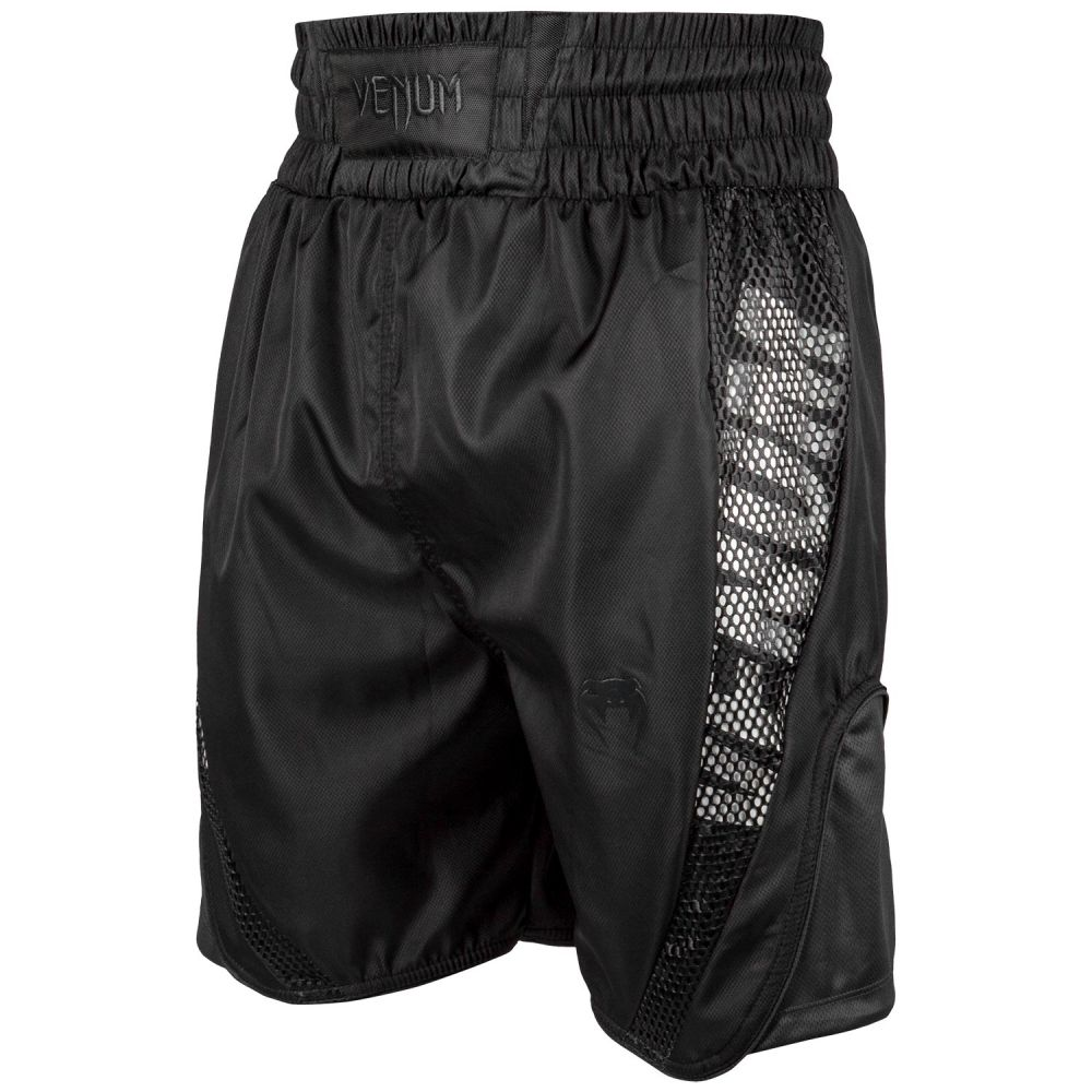 Venum Elite Boxing-shorts - Zwart/Zwart
