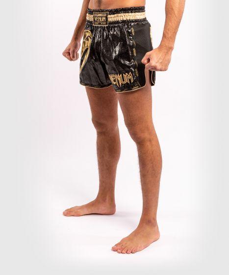 Short de Muay Thai Venum Giant Foil - Noir/Or