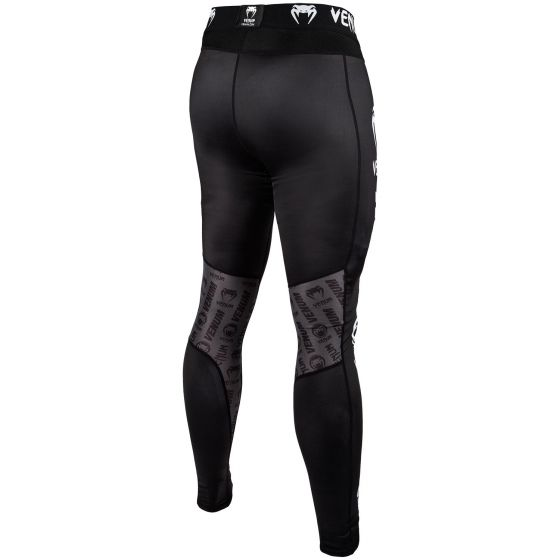 Pantaloni a compressione Venum Logos - Neri/Bianchi