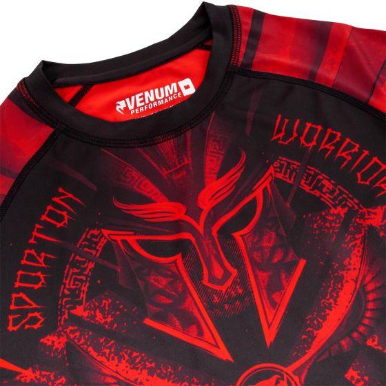 Venum Gladiator 3.0 Rashguard - Black/Red - Short Sleeves