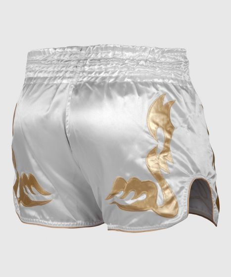 Venum Giant Muay Thai Short - Wit/Goud