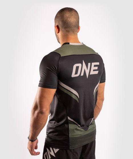 Maglietta ONE FC Impact Dry-Tech - Nero/Cachi