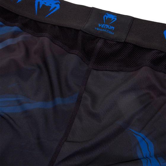 Pantaloni a compressione Venum Devil - Blu navy/Neri
