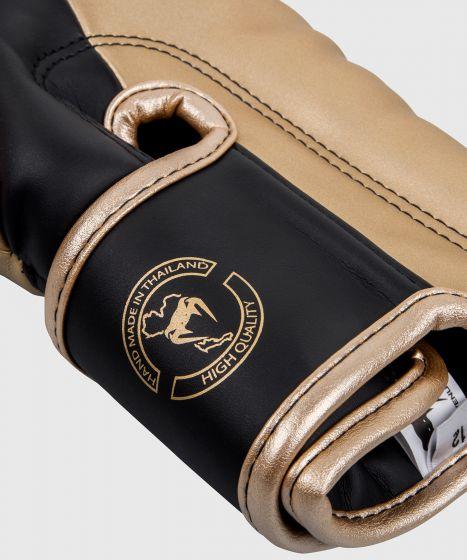 Venum Elite Boxhandschuhe - Schwarz/Gold