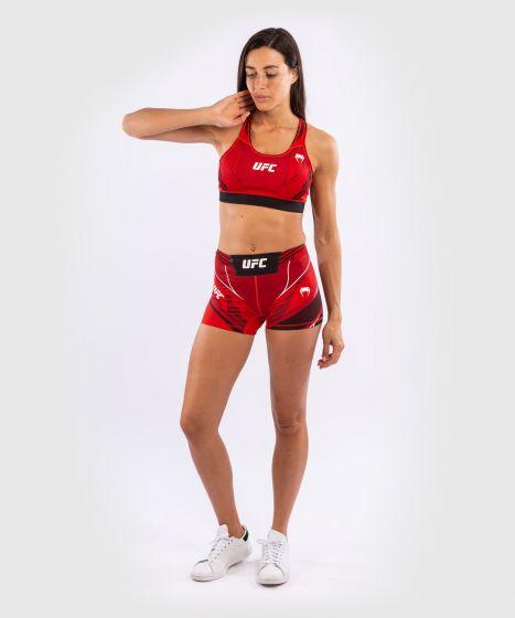 Short de Vale tudo Femme UFC Venum Authentic Fight Night - Coupe Courte - Rouge