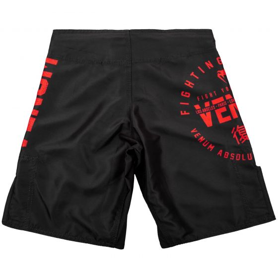 Fightshort Enfant Venum Signature Kids - Noir/Rouge