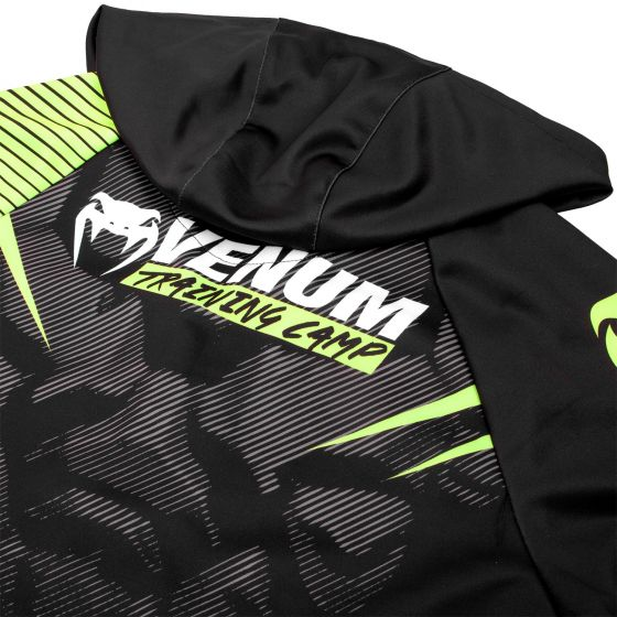 Sudadera Venum Training Camp 2.0 – Negro/ Neo Amarillo