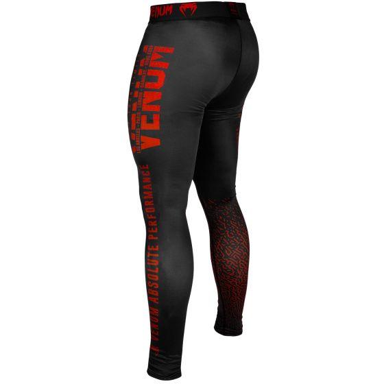Pantalon de Compression Venum Signature - Noir/Rouge