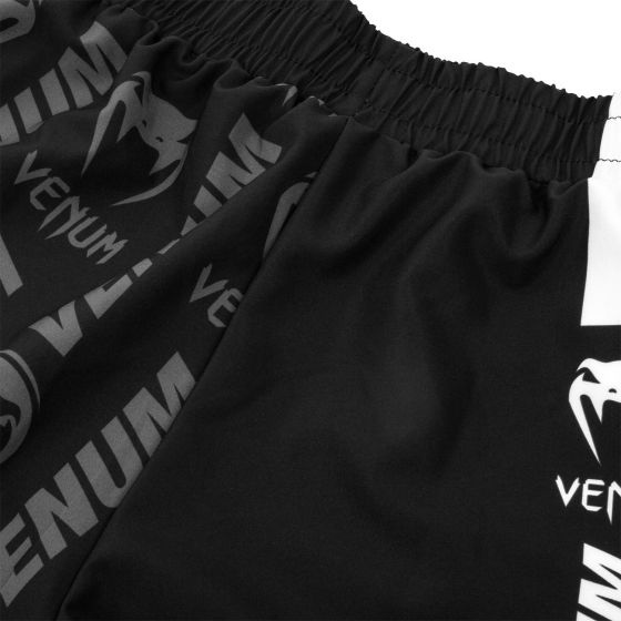 Venum Logos Training Shorts - Zwart/Wit