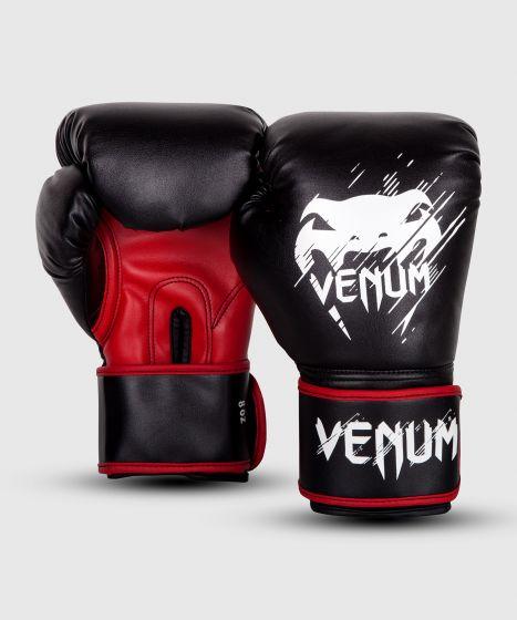 Venum Contender Bokshandschoenen - voor kinderen - Zwart/Rood