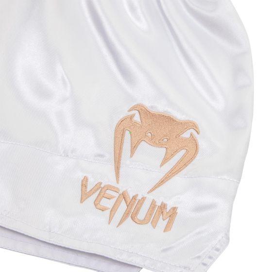 Venum Muay Thai Shorts Classic - Wit/Goud