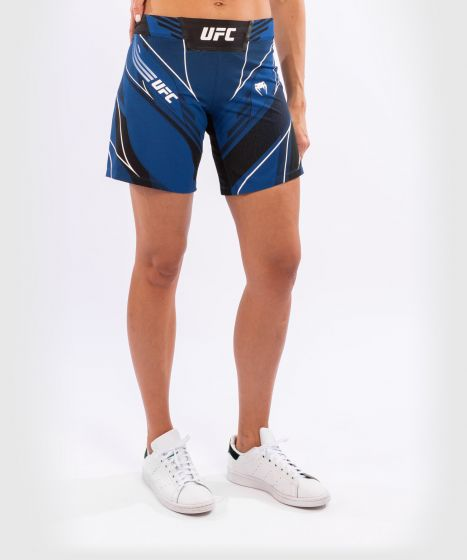 UFC Venum Authentic Fight Night Damesshort - Long Fit - Blauw