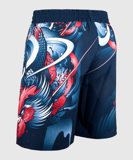 Pantaloncini Palestra Venum Rooster - Blu navy/Arancioni